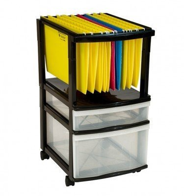 Hanging File Storage With Drawers
