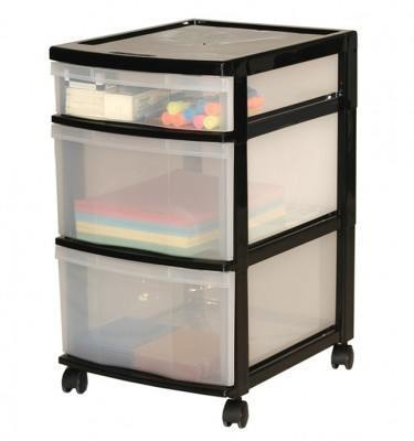 drawer on with plastic bed storage wheels interior clear drawers decor in ikea under minimalist