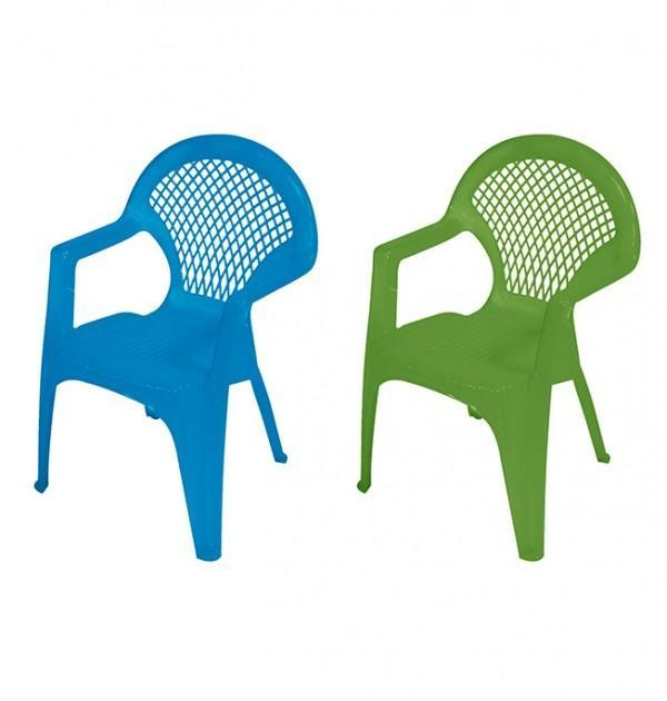 Patio Chair Assorted Colours Latice Back