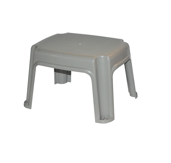 Fabulous One Step Stool Grey Gracious Living Corporation Alphanode Cool Chair Designs And Ideas Alphanodeonline