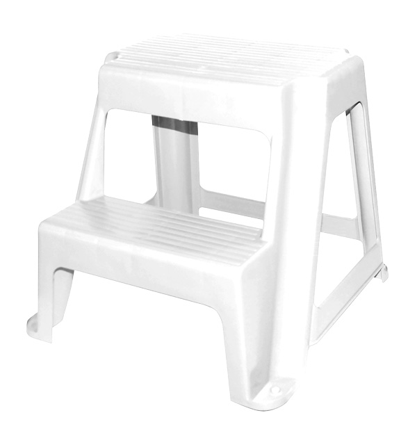 Brilliant Two Step Stool White Gracious Living Corporation Alphanode Cool Chair Designs And Ideas Alphanodeonline