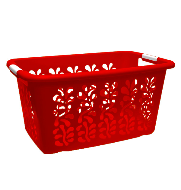 Ultra Laundry Basket Red
