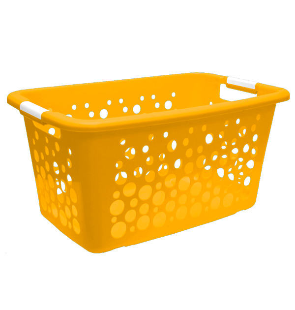Ultra Laundry Baskets Suds Yellow