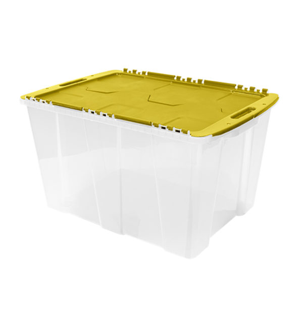 Flip_Top_Tote_Clear_Yellow